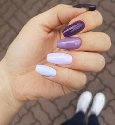 Today we have 25 of the Best Nails That You Have Never Seen Before! These nails are all super fresh and brand new for this year. You will love every single nail below and we hope they inspire you to do your own nails soon. Perfect Nails, Gorgeous Nails, Pretty Nails, Gray Nails, Purple Nails, Nagel Blog, Cute Acrylic Nails, Stylish Nails, Nagel Gel