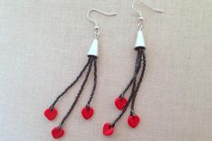Step by step instructions to make these beaded tassle earrings - make them short and full or long shoulder dusters.
