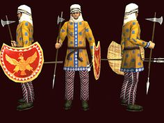 Iran Politics Club: Iranian Military Uniforms Pictorial History 4: Achaemenian Persian