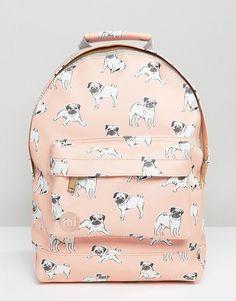 Mi-Pac Mini Pug Print Backpack