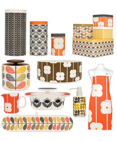 Love!.. Orla Kiely House products from late October 2012 at http://www.anasazihome.com