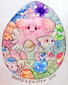 Blissey and Togetic
