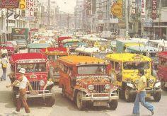 Rizal Avenue, Manila. Circa 1972