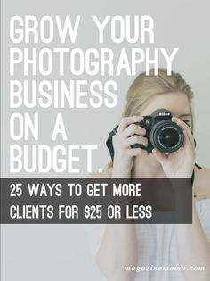 Getting more photography clients doesn't need to be expensive or time consuming…
