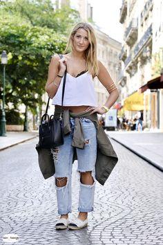 Easy Fashion: Julia / Rue Tiquetonne / Paris