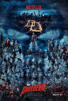 Official poster for Daredevil Season 2