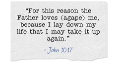 What is Agape Love?  Do I have it?  Do believers have it?  How can I have it?http://www.patheos.com/blogs/christiancrier/2014/05/02/what-is-agape-love-a-bible-study/