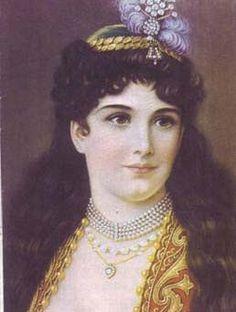 Greek Beauty, Folk Costume, 19th Century, Greece, Mona Lisa, Chain, Portrait, Artwork, Photography