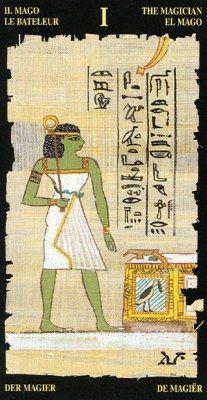 Đã có Lá I The Magician - Egyptian Tarot bài tarot