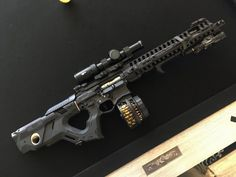 KILN – Vitaly Bulgarov's AR-15 DEX-stock -The Firearm Blog