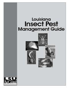 Louisiana Insect Pest Management Guide