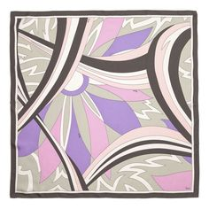 Emilio Pucci Scarves Arch and Petal Scarf (EP100)