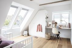 If you're looking for loft conversion idea to start planning for daylight in your loft conversion, VELUX can help you find your inspiration. Loft Playroom, Loft Room, Store Velux, Single Storey Extension, Conservatory Roof, Build Your Own House, Roof Window, Bright Kitchens, Design Your Dream House
