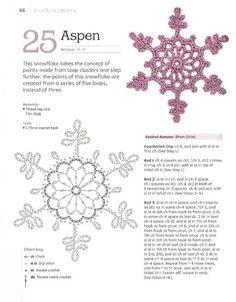 Crochet Snowflake Pattern, Crochet Stars, Crochet Snowflakes, Christmas Snowflakes, Christmas Tag, Crochet Diagram, Crochet Motif, Irish Crochet, Crochet Stitches