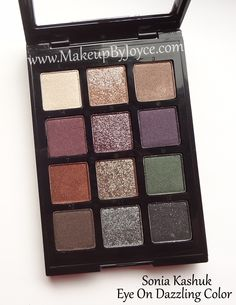 Sonia Kashuk's NEW Fall Eyeshadow Palette in Eye On Dazzling Color (retails 19.99 USD)