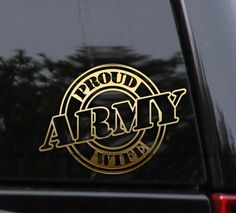 Proud Navy Vet/'s Wife Die Cut Vinyl Decal Car Window Sticker Veteran Family Life