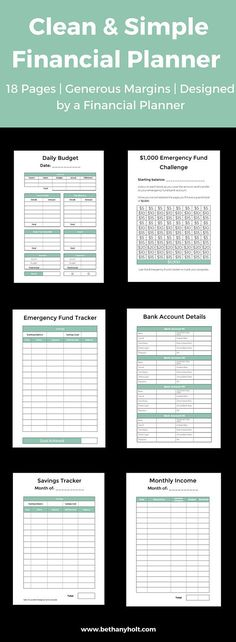 Budget Planner, Printable Budget, Budget Workbook, A5 Budget Planner - How To Make A Household Budget Spreadsheet