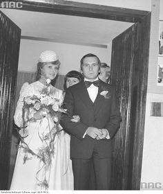 Ślub kościelny pani Kulik, 1979
