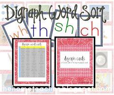 free digraph word sort