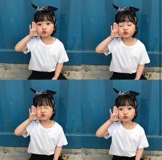 little kiddo E L Cute Asian Babies, Korean Babies, Asian Kids, Cute Babies, Cute Little Baby, Little Babies, Kids Girls, Baby Kids, Baby Baby