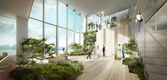 Bjarke Ingels Group has released a conceptual design for its latest project in New York, an office skyscraper wrapped in a ribbon of green terraces.   THE SP