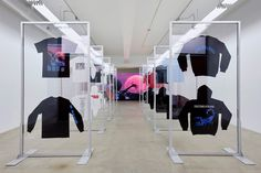 """Drake's Scorpion pop-up store will launch in Toronto, Canada, as part of Drake and Migos's join """"Aubrey and the Three Migos"""" tour lineup. The pop-up will Visual Merchandising Displays, Visual Display, Display Design, Store Design, Kiosk Design, Cafe Design, Design Shop, Drake Scorpion, Design Commercial"""