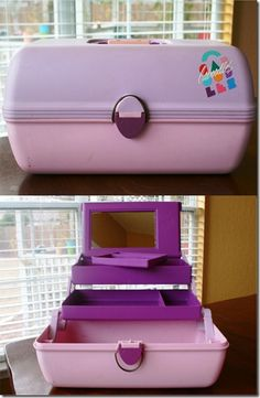 Oh how I loved my Caboodles! I had this exact one..
