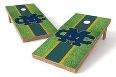 Mississippi College Choctaws Single Cornhole Board - Field