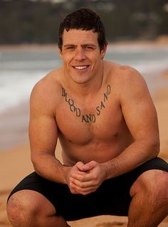"""Hero 2015:Darryl """"Brax"""" Braxton (Stephen Peacocke) loved Ricky (Bonnie Sveen) and their young son so much, he left town to try to give them a better life. After escaping from prison, Brax faked his own death so Ricky could move on without him. Walking away from Summer Bay and his loved ones was one of the toughest things Brax has ever had to endure."""