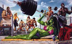 She hulk: The Paintings of Joe Jusko