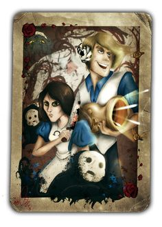 Pewdie - Alice: Madness Returns by ScribbleNetty on deviantART