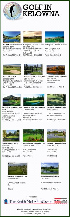 Golf in Kelowna Kerala Wedding Photography, Candid Photography, Things To Do In Kelowna, Pga Tour Players, Bc Home, Great North, Best Golf Courses, The Places Youll Go, Ranch