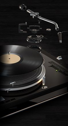 Turnplay – a High Detailed Vinyl Record Player for iPad. #musicart  http://www.pinterest.com/TheHitman14/artwork/