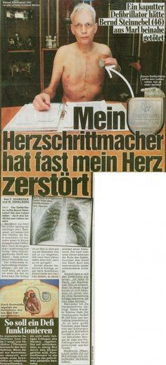 Bild vom 02.10.2013 - Mein Herzschrittmacher hat fast mein Herz zerstört - Rechtsanwaltskanzlei Sabrina Diehl