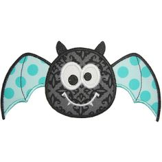 Cute Bat Applique