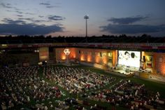 This is SO awesome!!!!! World Cup fans in Germany transformed the Union Berlin stadium into a giant living room Thursday, packing the pitch with sofas to lounge on while watching the opening match between Brazil and Croatia. | This Stadium In Berlin Was Transformed Into A Giant Living Room For The World Cup