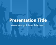 Youth PPT Template | Free PowerPoint Templates
