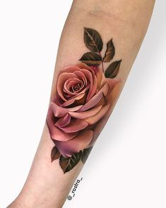 Photos Rose tattoo models for inside arm. Photos Rose tattoo models for inside arm. Rose Tattoo Inside Arm Rose tattoo inside arm designs for women. Form Tattoo, Tattoo Line, Shape Tattoo, Color Tattoo, Mandala Rose Tattoo, Rose Tattoo Forearm, 3d Rose Tattoo, Coloured Rose Tattoo, Body Art Tattoos
