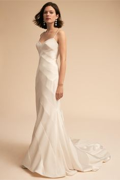 BHLDN Emblem Gown Ivory in Bride | BHLDN