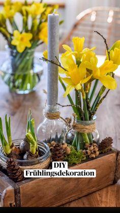 Deco Nature, Nature Decor, Decor Crafts, Diy And Crafts, Orchid Flower Arrangements, Home Design Diy, Deco Table, Handmade Home, Diy Wall Art