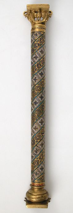 Colonnette from a Reliquary Shrine Date: ca. 1175–1200 Geography: Made in Cologne, Germany Culture: German