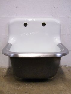 Columbus Architectural Salvage - Cast Iron Utility Sink