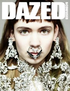 Grimes, Claire Boucher, Dazed and Confused cover