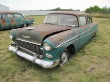 1955 Chevrolet 150 Belair 2dr Sedan | Proxibid Auctions