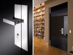 CASE SLIM-LINE | MWE Edelstahlmanufaktur Pivot Doors, Door Levers, Door Design, Supreme, Locker Storage, Door Handles, Germany, Hardware, Windows