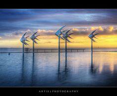 The Esplanade Lagoon, Cairns, Far North Queensland :: HDR