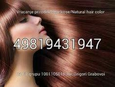 Grabovoi codes hair color