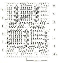 1001 pattern. Crochet patterns. Relief patterns