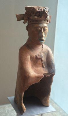 Maya Ceramic Figure Mexico   Flickr - Photo Sharing!