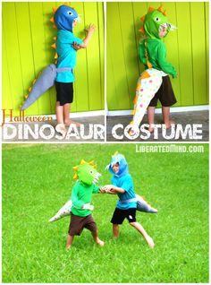 Dinosaur Costume & Headpiece for Halloween | LiberatedMind